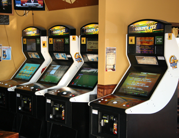 Our 4 2010 Golden Tee Machines